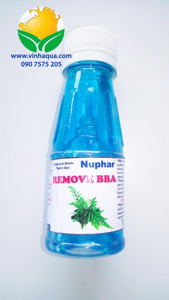 Thuốc diệt rêu Nuphar cho hồ thủy sinh