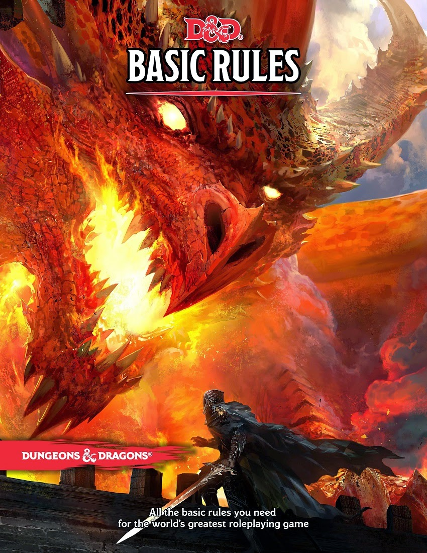 Raging Owlbear: Wizards quietly updates D&D Basic Rules PDF