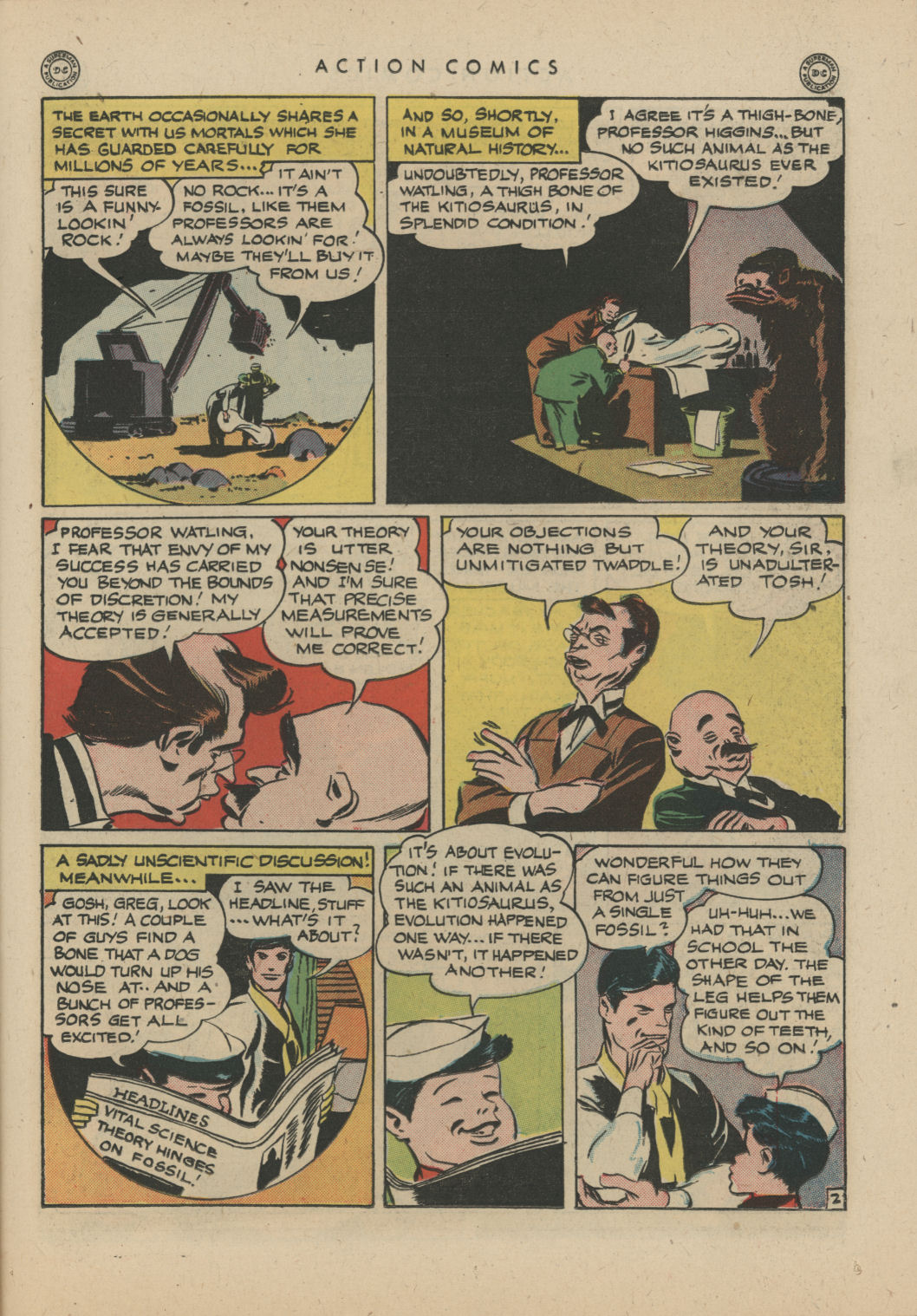 Read online Action Comics (1938) comic -  Issue #83 - 32