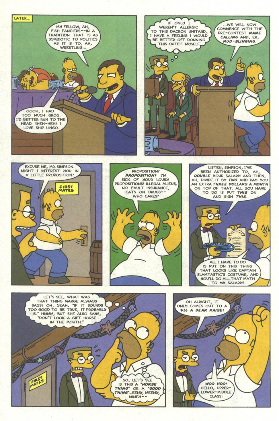 Read online Simpsons Comics comic -  Issue #29 - 9