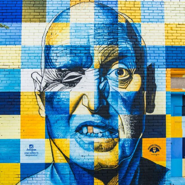 mural gravity grafiti sanare fanerp