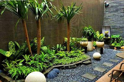 Gambar Foto Model Taman Landscape