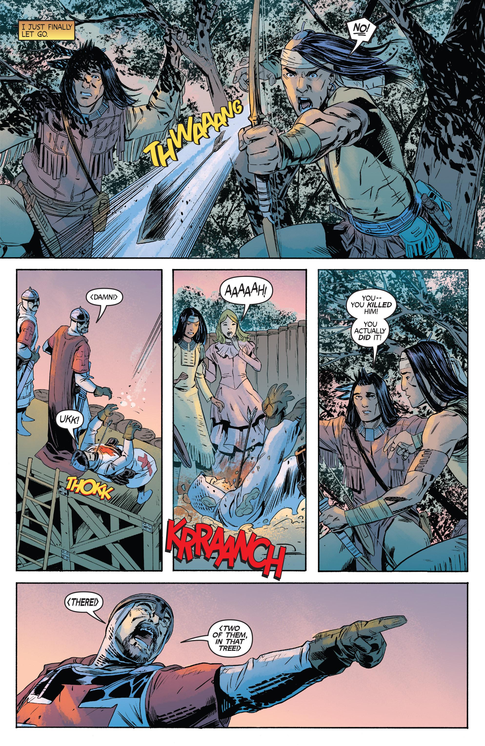 Read online Turok: Dinosaur Hunter (2014) comic -  Issue # _TPB 1 - 42