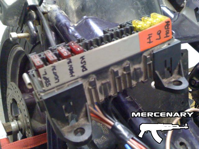 Mercenary Garage - GPZ Wiring