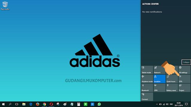 Cara Mudah Mengatur Kecerahan di Windows 10