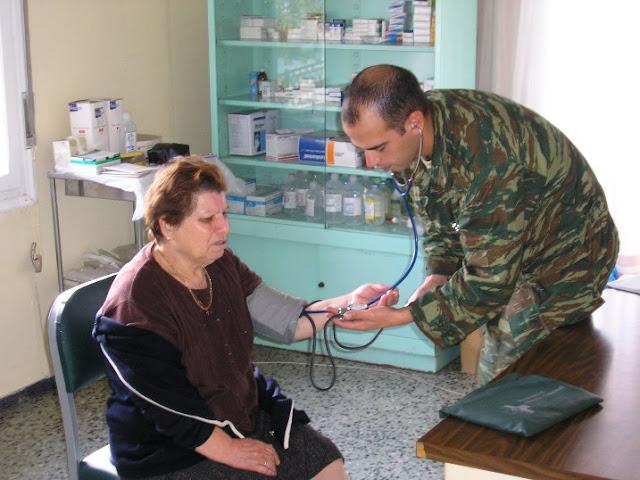 Σε Τρόπαια, Σπέτσες και Κρανίδι τοποθετούνται οπλίτες ιατροί