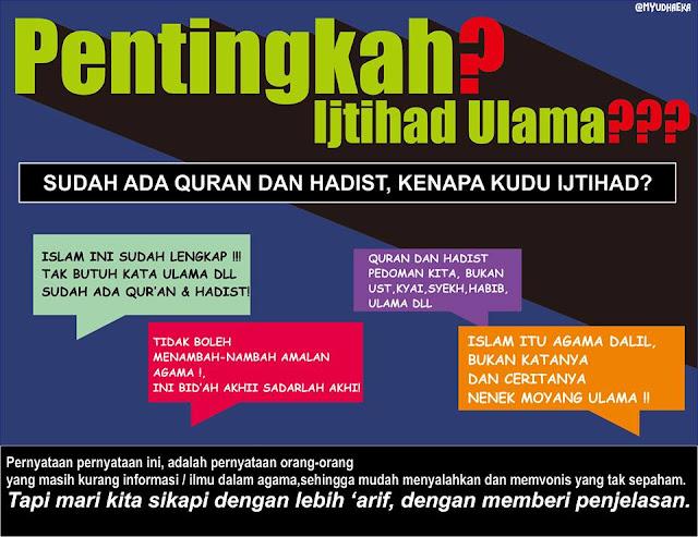 Sudah ada Al-Qur'an dan Hadits, Kenapa Masih Harus Ijtihad Ulama?