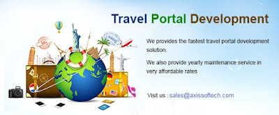 online travel portal development