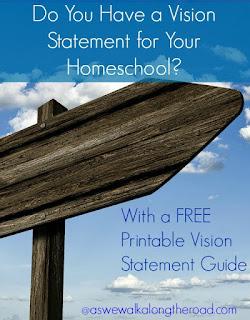 Homeschool vision statement