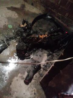 Filho mata a mãe e põe fogo no corpo no bairro Paraíso em Pau dos Ferros