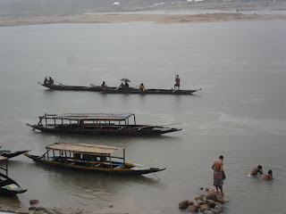 Stone collecting boats