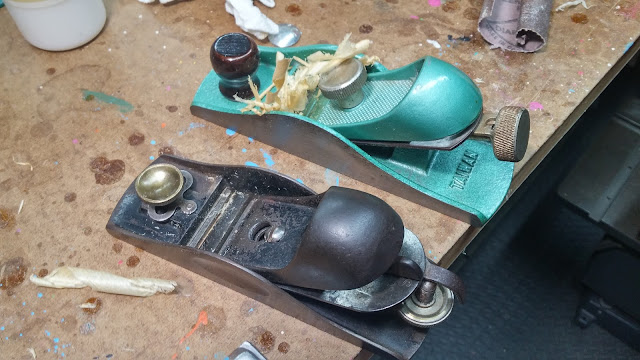 Shanley and Tiwanese Scotties Branded Block Planes I Used