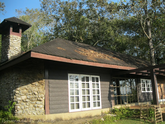 Royal house in Phukhieo Wildlife Sanctuary