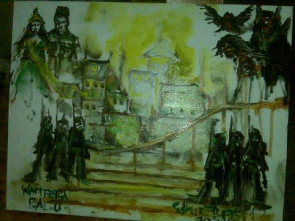 lukisan istana jin paling mengerikan