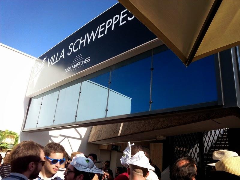 Villa scweppes, Cannes, 2015, festival de cannes