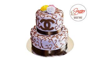 Heavenly Tier Cake - 5 Kg