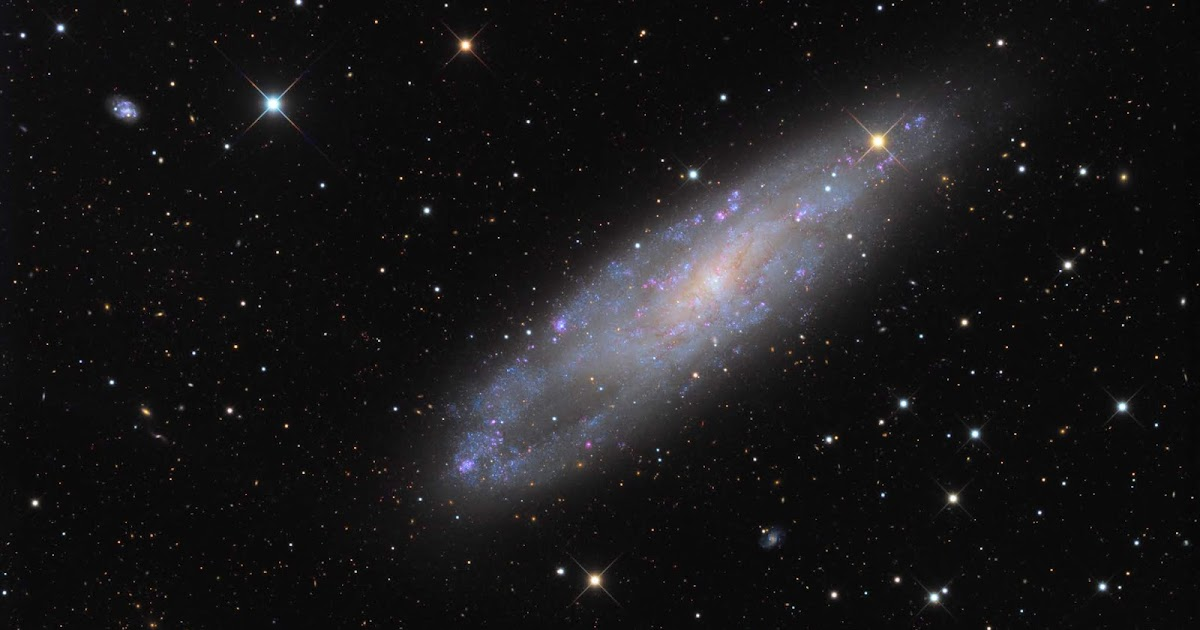 NGC 247 - Smaller Galaxy | Image of the day