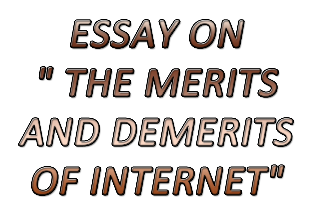 Public Health Essays Essay On  The Merits And Demerits Of Internet Short Essays For High School Students also Essay On Importance Of Good Health Essay On  The Merits And Demerits Of Internet  Sir Tauheeds  Health Care Reform Essay