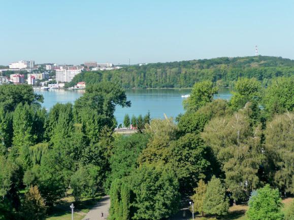 Тернополь. Озеро