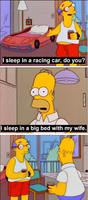 A funny quote from Milhouses father