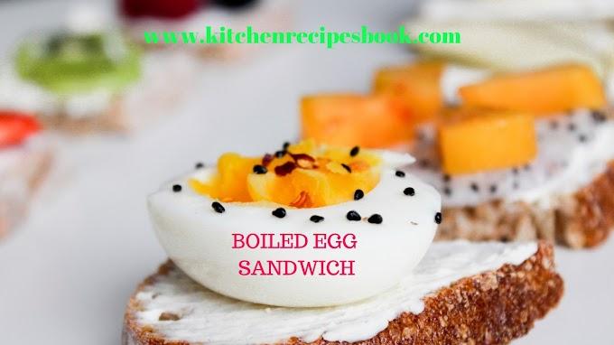 Boiled Egg Sandwich Recipe | Homemade Egg Sandwich |