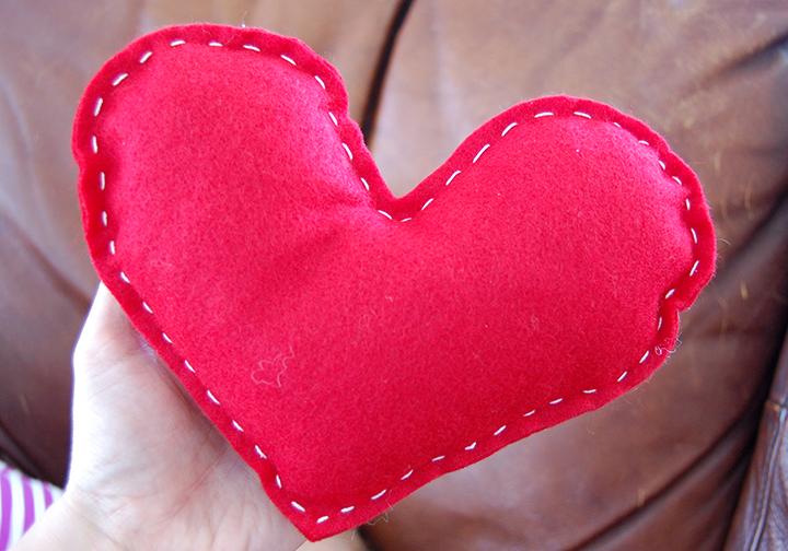 Joyfully Becca The Tale Of Three Heart Pillows