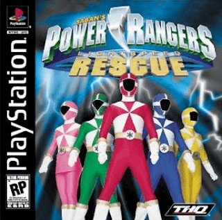 Power Rangers Lightspeed Rescue Ps1