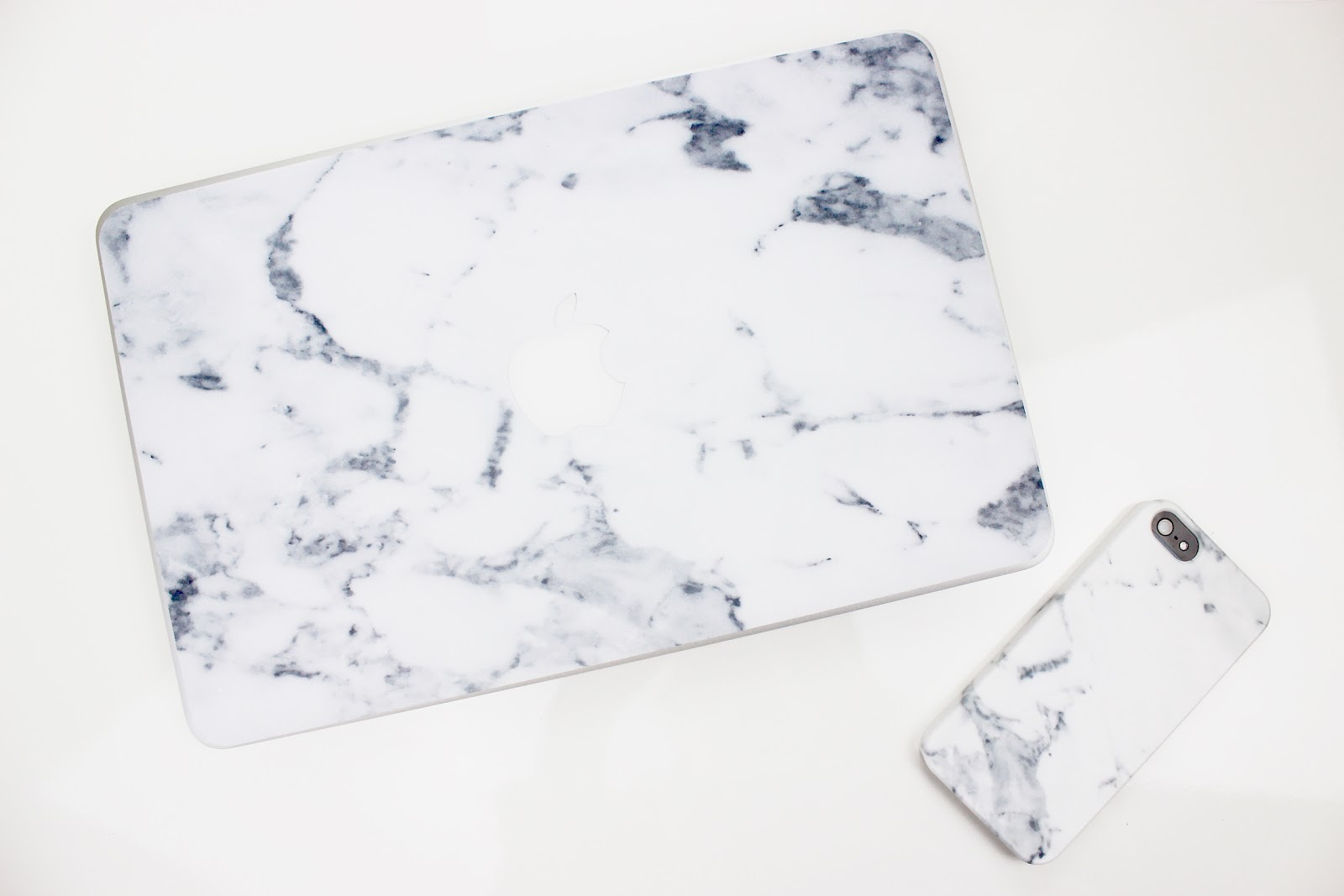 Marble I Phone and Laptop Case