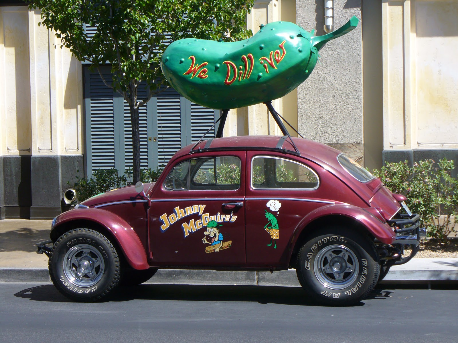 Although We Never Did Get A Decent Shot Of The Car This Is Somebody Else S It Sticks In My Kids Heads As That Lobster Chased Around Orlando