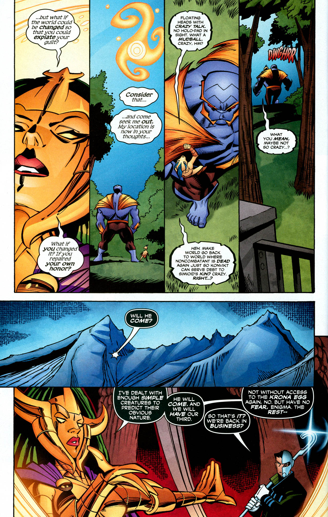 Read online Trinity (2008) comic -  Issue #26 - 32