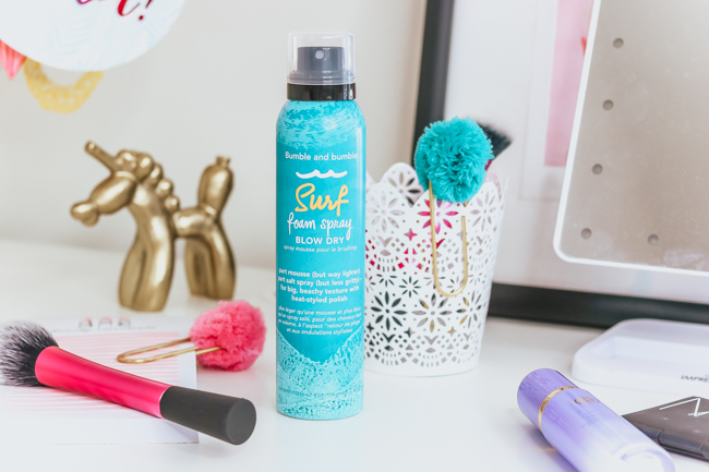 bumble and bumble surf spray foam