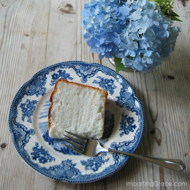 LIght and refreshing, angel food cake is a dessert straight out of heaven