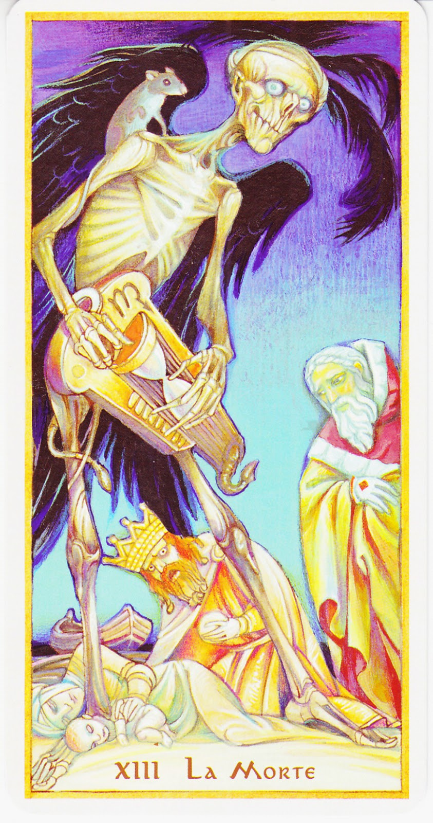 Rowan Tarot December 2012: Rowan Tarot: Don't Pay The Ferryman