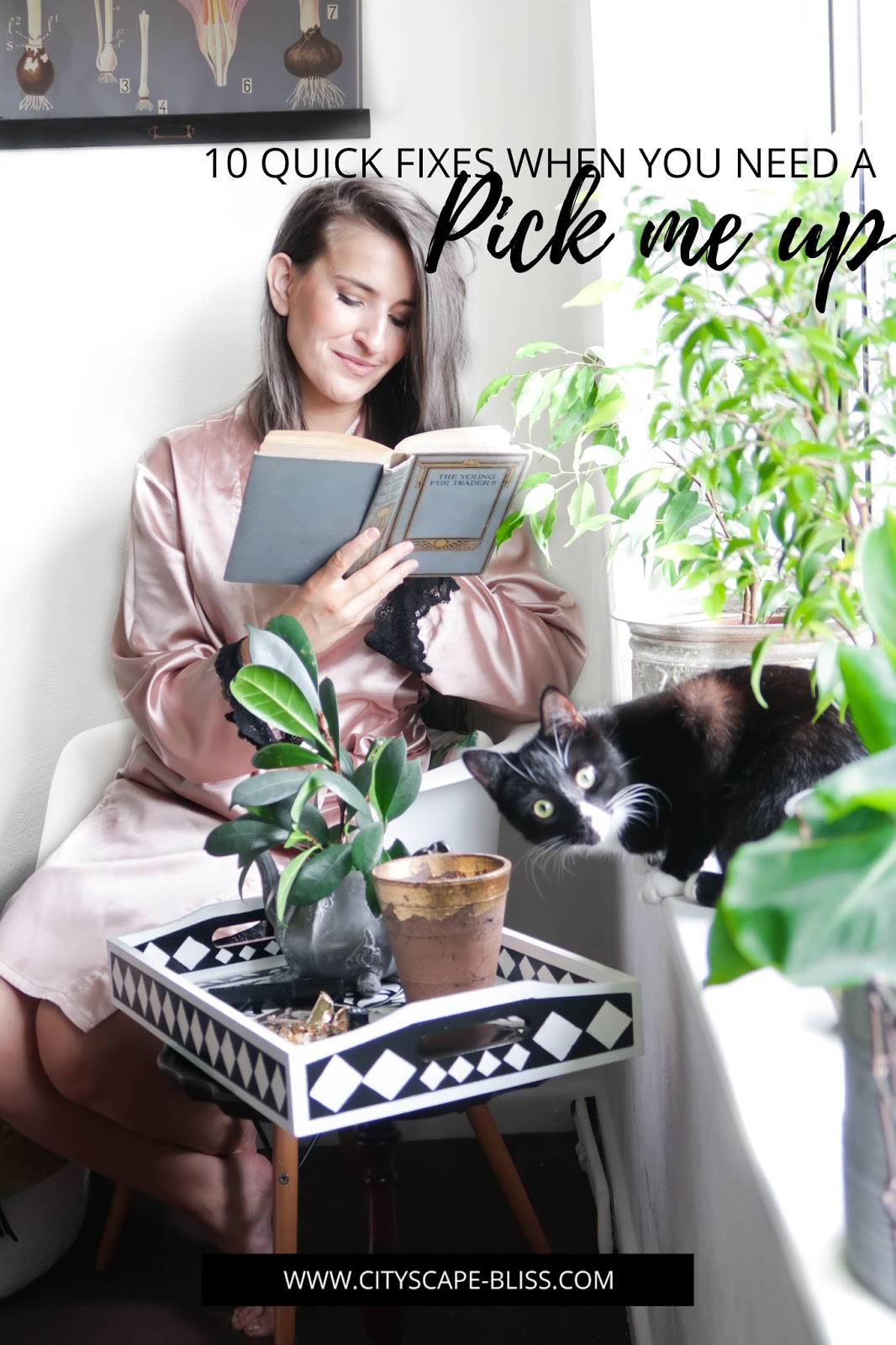 10 quick fixes when you need a pick me up