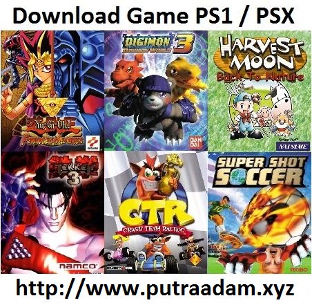 Download Game PS1 / PSX ISO Android