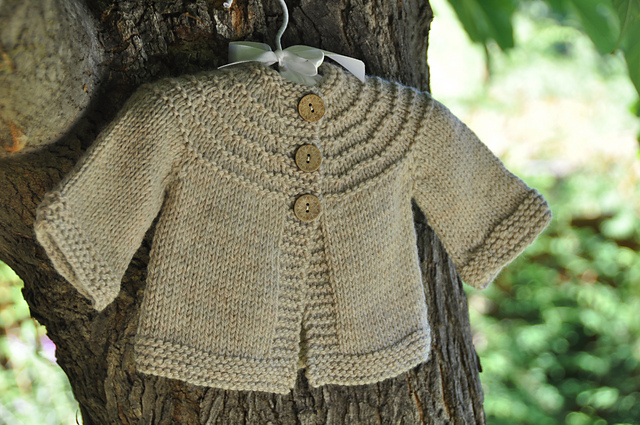 b50cc55a0 Top Ten FREE baby sweater patterns - Knitionary