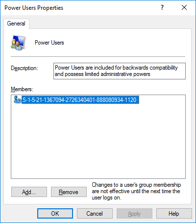 Get-LocalGroupMember PowerShell cmdlet issues - An unspecified error