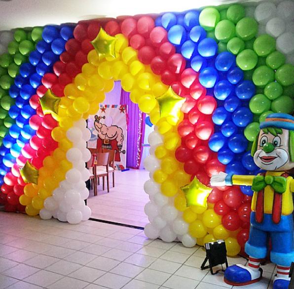 101 fiestas decora la entrada con globos para tu fiesta - Decora con globos ...