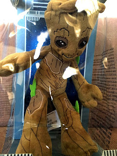 Disney California Adventure Marvel Comics Guardians of the Galaxy Mission Breakout Tivan Collection Baby Groot Doll