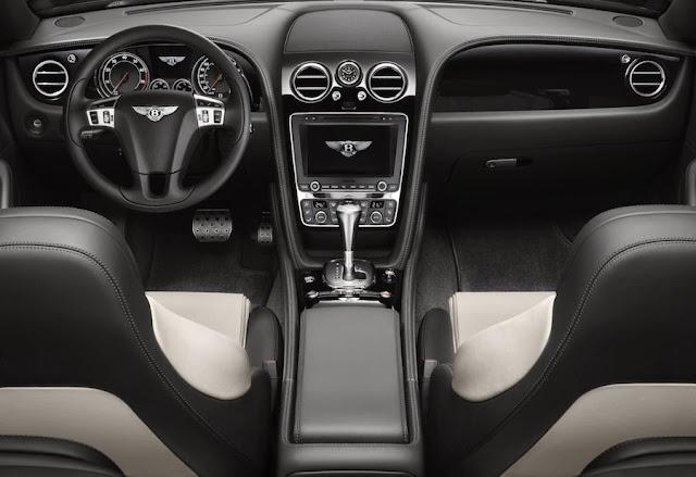 コンチネンタルGT V8 Sのインテリア