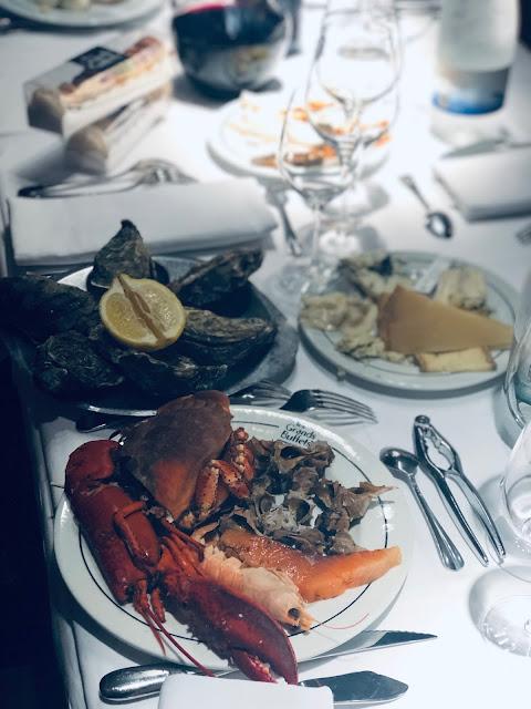 Les Grands Buffets - Dónde comer en Narbona - Marisco