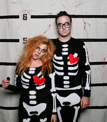 Scary Halloween Costume Ideas For Couples 2016 Skeletons Love