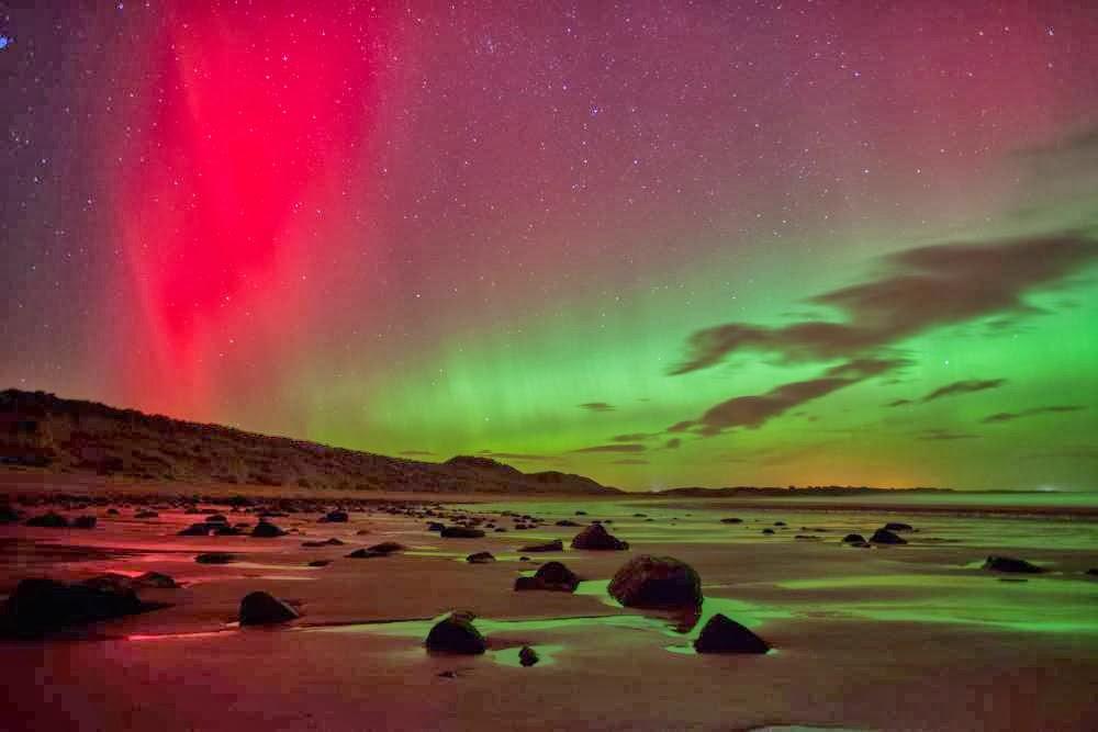 Northern Lights Norfolk Tonight