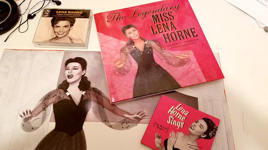 Tuesday Tablescape... The Legendary Miss Lena Horne!