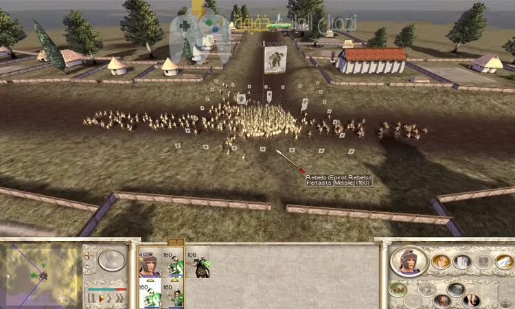 تحميل لعبة 1 Rome Total War مضغوطة