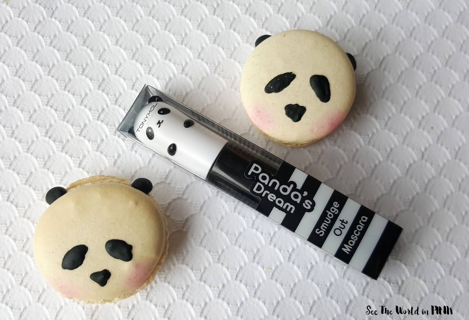 Tony Moly Panda's Dream Smudge Out Mascara Volume - Cutest Mascara Ever, But Does It Work?!