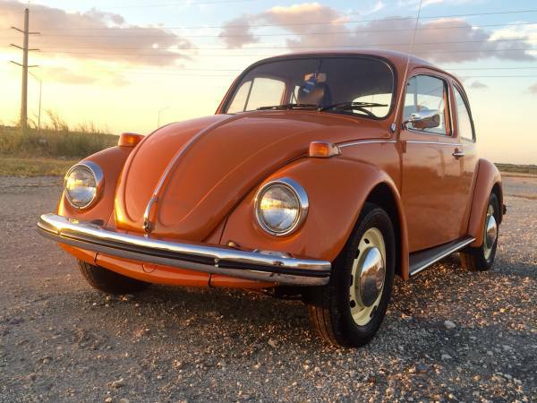 used 1974 volkswagen beetle classic by owner. Black Bedroom Furniture Sets. Home Design Ideas