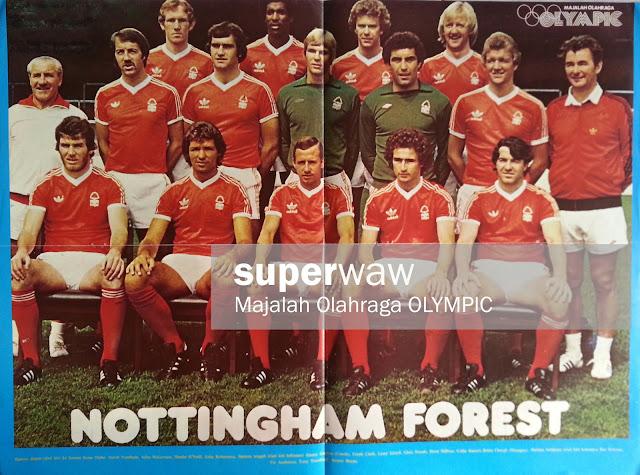 Full Team Nottingham Forest 1977