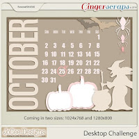 September 2016 Desktop Challenge by JoCee Designs