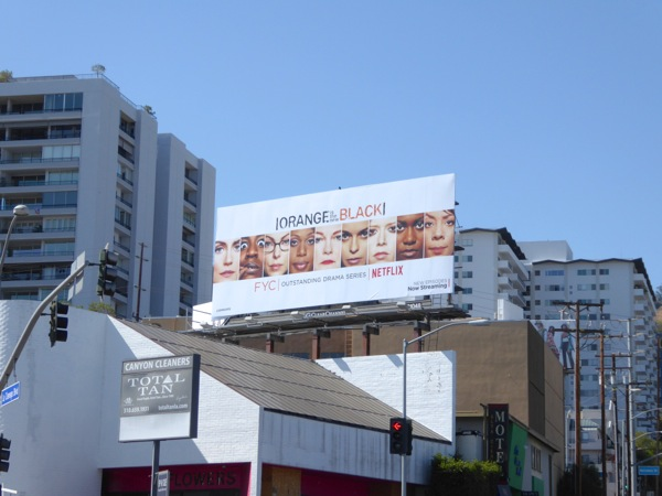 Orange is the New Black season 3 Emmy 2016 billboard